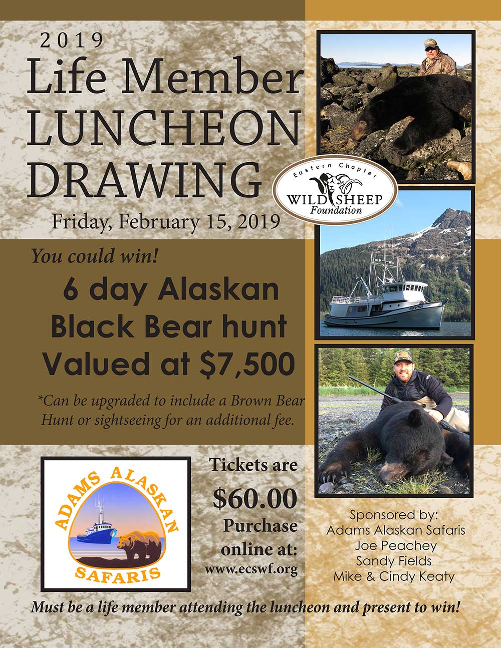 2019 Luncheon Lifetime Member Drawing
